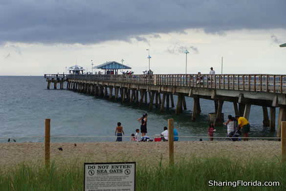 Anglins fishing pier lauderdale by the sea pictures of for Miami fishing piers