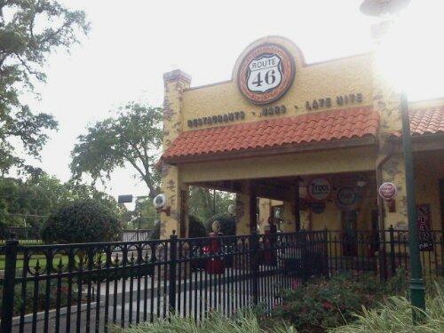 Route46 Restaurant Sign in Orlando