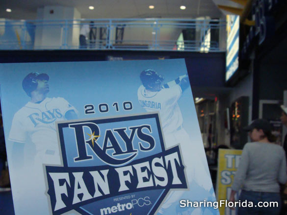 Tampa Rays Fanfest 2010