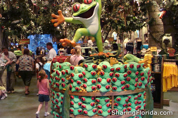 Biggest Rainforest Cafe In The World