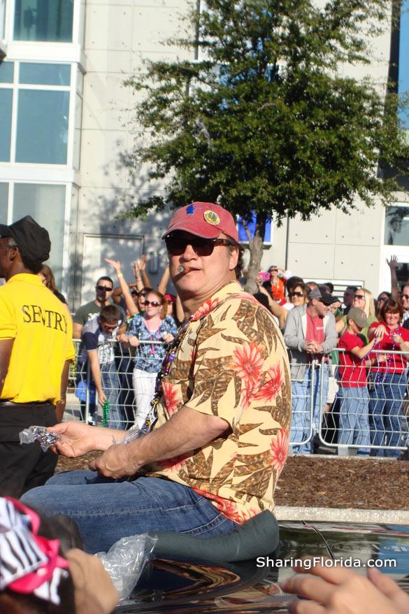 Jim Belushi at Gasparilla Parade