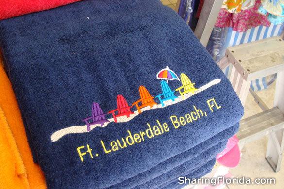 Ft. Lauderdale Beach Towels