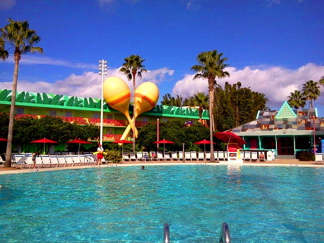Disney All Star Music Resort – The Calypso Pool