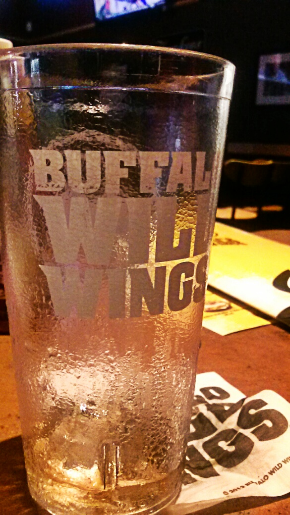 Buffalo Wild Wings Water