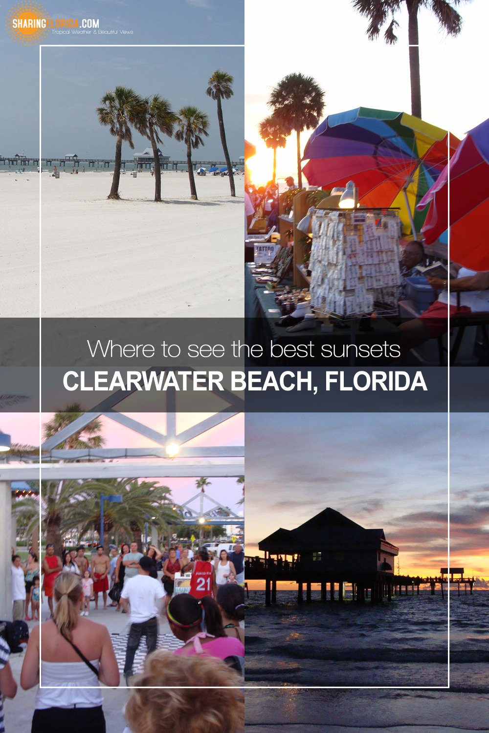 Best Place To See The Sunset At Clearwater Beach Free Clearwater Beach Sunset Wallpapers